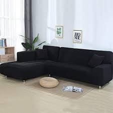 sofa covers. Fine Covers Beacon Pet Sofa Covers For L Shape 2pcs Polyester Fabric Stretch Slipcovers   Pillow Throughout
