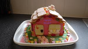 Fairytale Candy Cottage Childrens Party Cake Honiemummy Blog