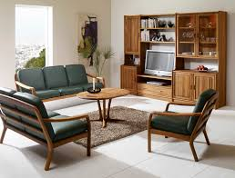 furniture grey leather sofa set with brown wooden legs added by round brown wooden table