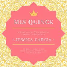 Customize 45 Quinceanera Invitation Templates Online Canva