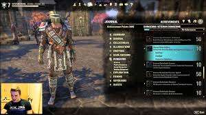 eso my achievements overview nearly  eso my achievements overview nearly 3500