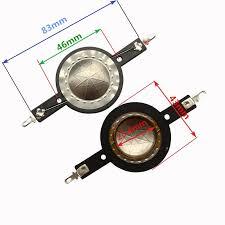 <b>Finlemho Tweeter Speaker</b> Diaphragm Repair Kit 25.4mm Voice ...