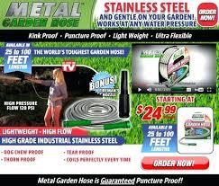 metal garden hose metal garden hose review best metal garden hose reel cart