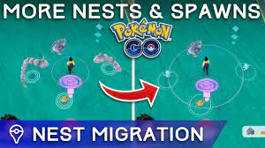 POKÉMON GO: I FOUND NEW SPAWNS & NESTS + NEST MIGRATION - YouTube