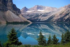 photo bow lake canadien rockys image on