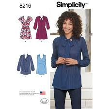 Simplicity Blouse Patterns Extraordinary Simplicity 48 Misses' Mini Dress Or Tunic