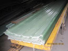 glassfiber reinforced plastic corrugated roof sheet grp sunlight panel