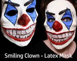 <b>Smiling Clown Halloween Horror Mask</b> | Etsy