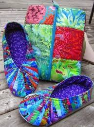 Quilted Slippers Pattern 17 best images about quilting snappy ... & Quilted Slippers Pattern 17 best images about quilting snappy slippers on  pinterest Adamdwight.com