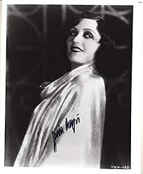 Pola Negri - Photograph Signed at Amazon's Entertainment Collectibles Store