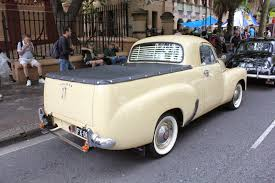 Aussie Old Parked Cars: 1952 Holden FX Ute