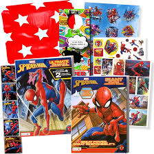 Spiderman coloring book marvel superhero colouring pages episode avengers coloring video for kids bun sophat. Amazon Com Spiderman Sticker Activity Set Bundle Includes Spiderman Activity Book With 500 Spiderman Stickers 3d Stickers Superhero Door Hanger In Bag Arts Crafts Sewing