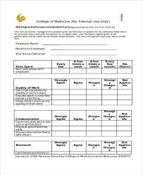Employee Appraisal Form 40 Simple Appraisal Forms