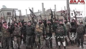نتیجه تصویری برای ادامه پیشروی ارتش و مقاومت علیرغم تهدیدات آمریکا