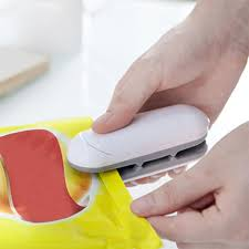 Portable Multifuncational <b>Food</b> Vacuum Impulse Sealer <b>Bag</b> Clip ...