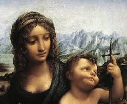 title madonna with the yarnwinder detail after 1510 painted by leonardo da vinci location private collection year 1510 dimensions inch wide x inch