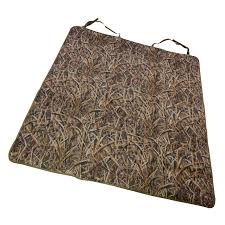 mud river ducks unlimited blades camo 2 barrel bench seat cover utility mat 3 customer reviews