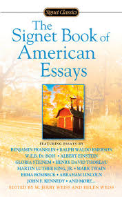 the signet book of american essays com the signet book of american essays by