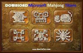 microsoft mahjong ans game