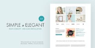 Simple Elegant Simple Elegant Multi Purpose Wordpress Theme By Withemes