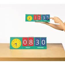 Number Flip Chart Time Flip Chart Pupil Pack 10