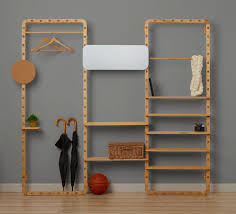connect the dots portable wooden shelving for modern nomads