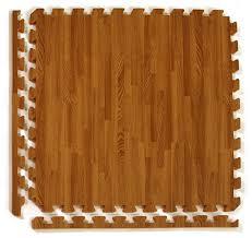 24 x24 wood grain reversible interlocking foam tiles set of 25 dark