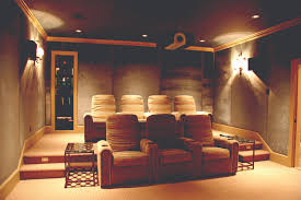 Home Entertainment Design Bedroom And Living Room Image - Home theatre interiors