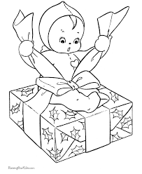 Small Picture Kids Christmas coloring pages Wrapping Gifts
