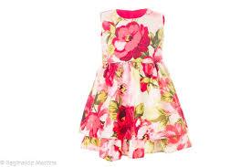 Handmade Skirt Size Chart Red Flowery Dress
