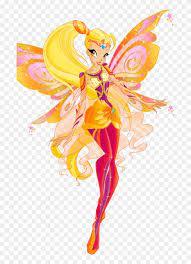 Magic winx (charmix), enchantix, believix. Winx Club Shines Winx Club Bloomix Stella Free Transparent Png Clipart Images Download