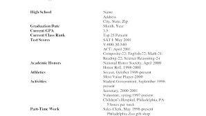 High School Student Summer Jobs High School Student Summer Job Resume Examples Job Resume Template