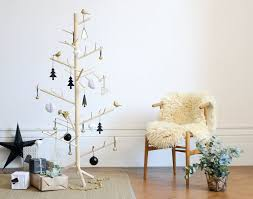 Christmas tablescape View in gallery Christmas tree from Demelzahill Modern  Christmas Decor Ideas are all Style and Chic