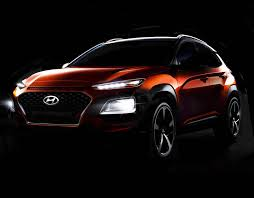 new car releases in ukHyundai Kona UK  new SUV 2017 pictures and trailer revealed