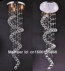 wonderful hanging ball chandelier aliexpress sky lightingcontemporary spiral crystal