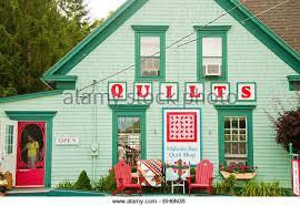 Quilt Shop Stock Photos & Quilt Shop Stock Images - Alamy & Nova Scotia, Mahone Bay, Shopping at colorful Mahone Bay Quilt Shop - Stock  Image Adamdwight.com