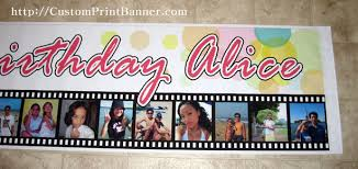 Happy Birthday Banners Personalized Customized Banners For Birthdays Barca Fontanacountryinn Com