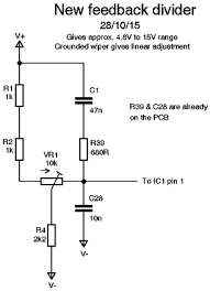 modifying a chinese power supply to provide a variable voltage designing a new feedback divider