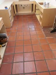 Kitchens With Saltillo Tile Floors Saltillo Floor Refinished Connoisseur Carpet Cleaning Santa Cruz