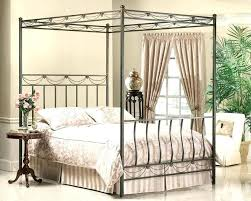 cheap canopy bed frame queen – nounchi.info