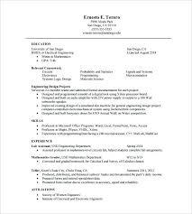 Engineering Resume Template Civil Engineer Samples Civil Mechanical ...