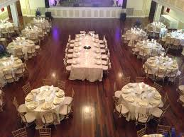 Reception Table Set Up Our Grande Ballroom With A Head Table Set Up As A Captains