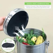 compost container kitchen compost bin odor protection kitchen compost bin australia