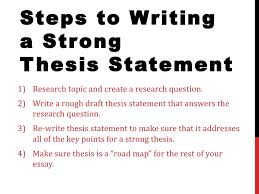 Dissertation Characterization Example Essay  thesis statements