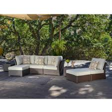 Corvus Oreanne 8-piece Brown Wicker Patio Furniture Set - Free Shipping  Today - Overstock.com - 16219226