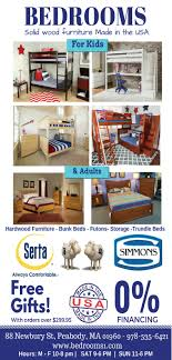 Solid Wood American Made Bedroom Furniture The Daily News Of Newburyport Newspaper Ads Classifieds