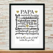 Danke Papa Geschenke Bild Mit Rahmen Geschenkidee Zum Vatertag