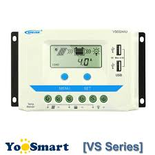EPever <b>10A 20A 30A</b> 45A 60A Solar Charge Controller <b>12V 24V</b> ...