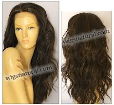 Fs4 27 Color Chart Sepia Lace Front Wig Yvonne Heat Resistant Synthetic Fiber