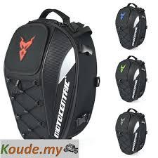 Waterproof <b>Motorcycle</b> Tail Bag <b>Multi</b>-<b>functional Durable Rear</b> ...